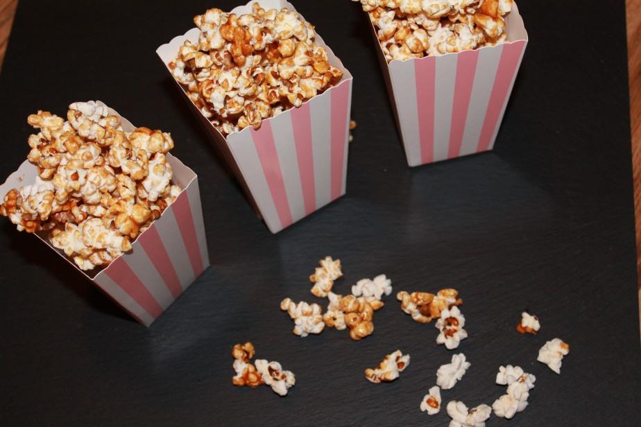 Caramel Salz Popcorn