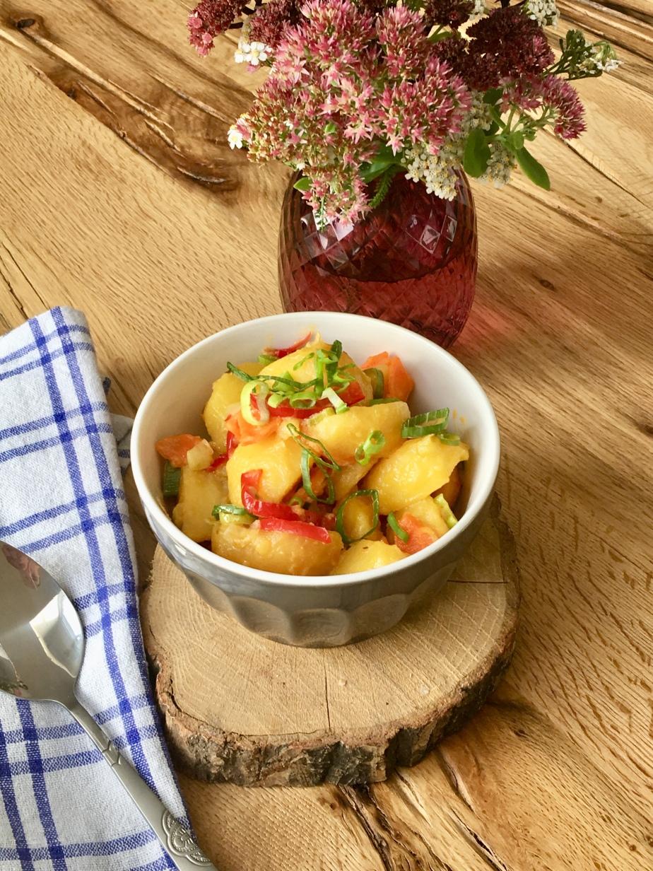 Lauwarmer Kartoffelsalat mitMiso
