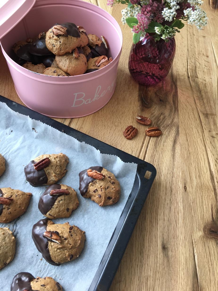 Bananen Schokoladen Cookies