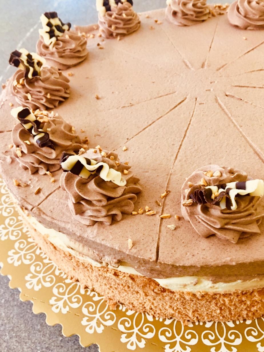 Bananen Schokoladen Torte