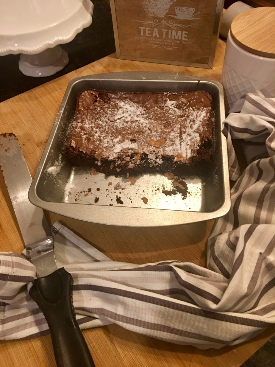Half baked Brownies