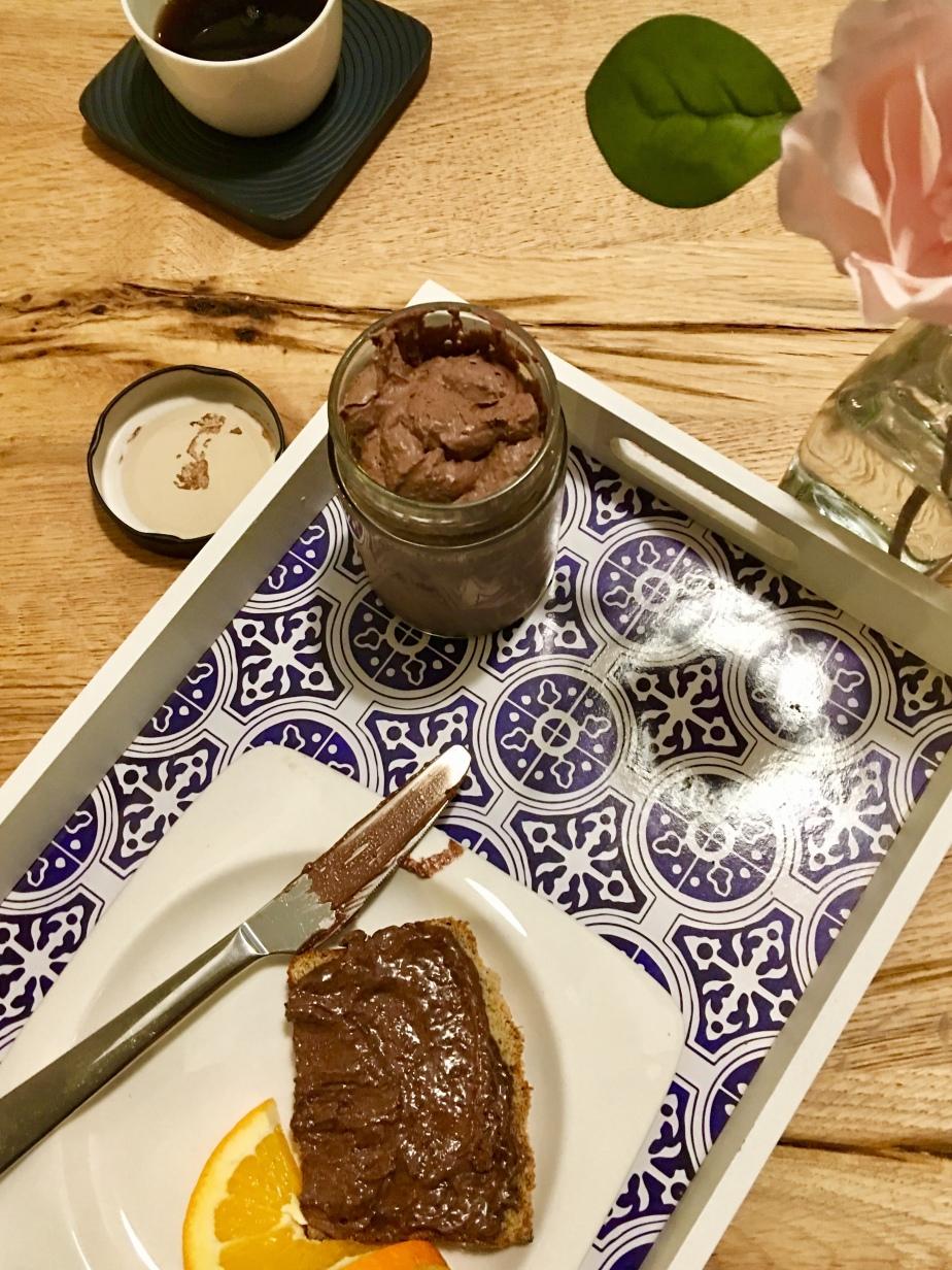 Low Carb Haselnuss/Schokoladen Aufstrich