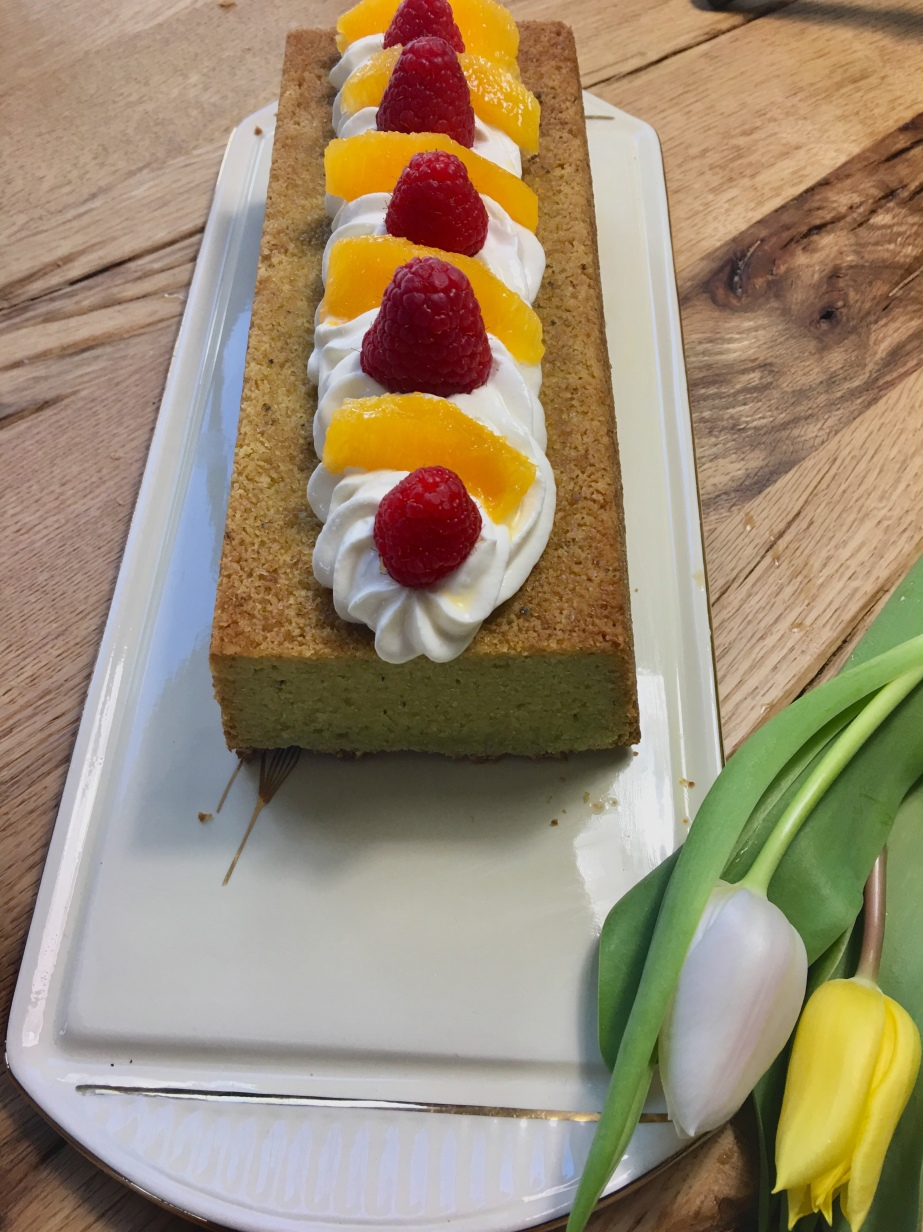 Avocado Orangen Kuchen Low Carb