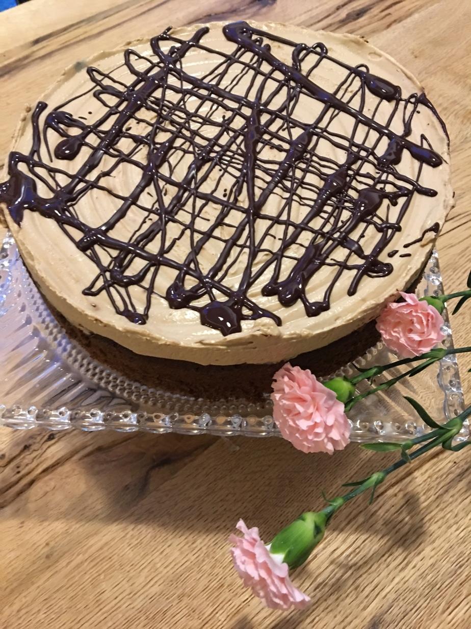 Eiscafé Mandel Torte LowCarb
