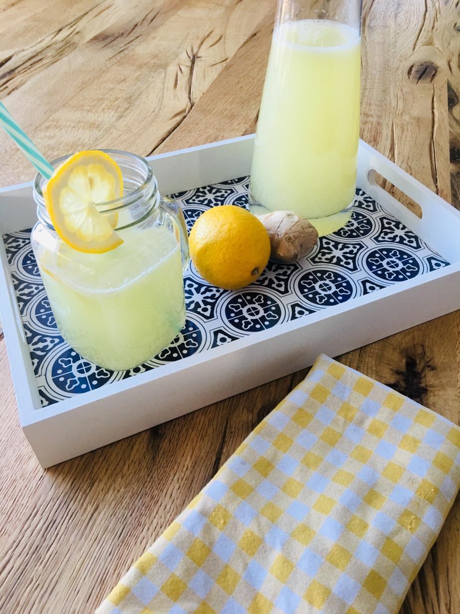 Zitronen Ingwer Limonade