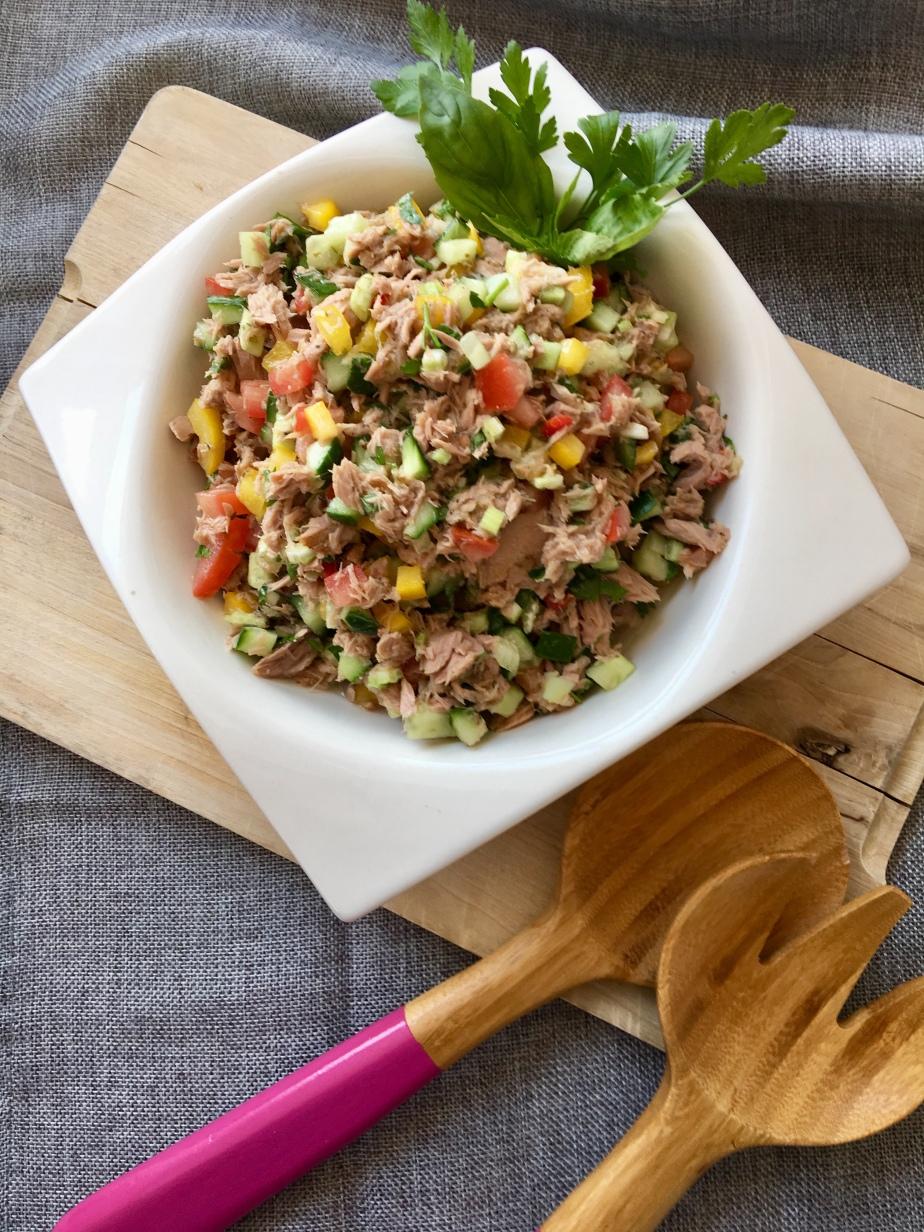 Sommerlicher Thunfisch Salat